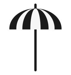 single parasol icon vector image vector image