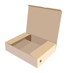 Brown box vector