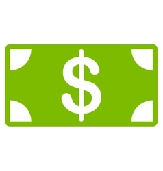 Banknote icon from business bicolor set vector