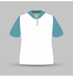 Neck shirt isolated icon design vector