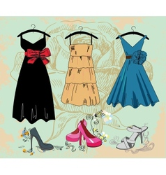fashion background vector image vector image