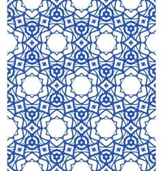 Pattern with mediterranean moroccan motifs vector