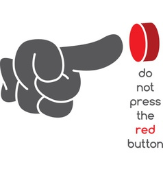 Push button background vector