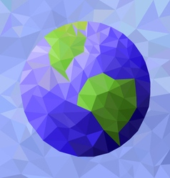 Abstract planet earth vector