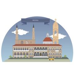 Nicosia vector image vector image