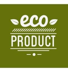 Organic Product Guaranteed Label or Badge vector image vector image