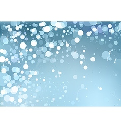 Bokeh Christmas Background vector image
