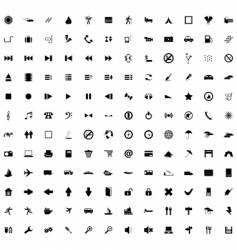 Icon collection vector