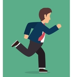 Young people male cartoon design vector