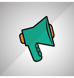 Megaphone icon design vector