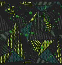 abstract seamless background pattern with vector image vector image