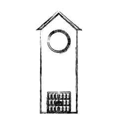 Church tower icon vector