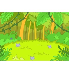 Jungley Glade vector image