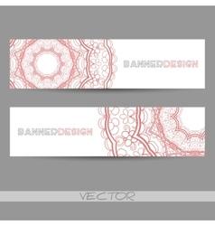 OrnamentalBanner2 vector image vector image