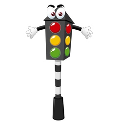 Traffic signals vector image vector image