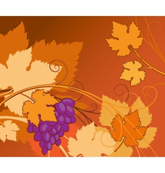 vine background vector image vector image