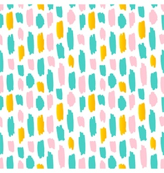 Abstract strokes seamless pattern background vector image