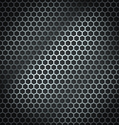 Metal cell background vector
