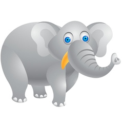 elephant cartoon vector image
