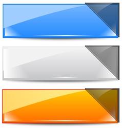 banner frames vector image vector image