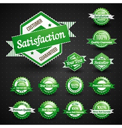 High Quality Labels Collection vector image