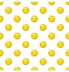 Moon pattern cartoon style vector
