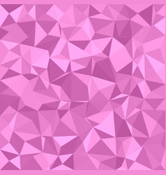 Pink triangle tiled background vector
