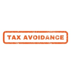 Tax avoidance rubber stamp vector