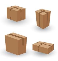 Collection box packaging Collection Box Packaging vector image