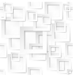 Square shape sticker on white background vector