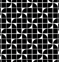 Black and white abstract geometric seamless vector