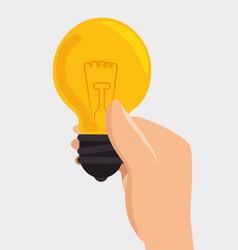 Bulb light big idea concept vector