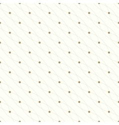 Seamless geometric pattern Connected lines with vector image