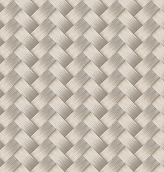 Small woven white cane fiber seamless pattern vector