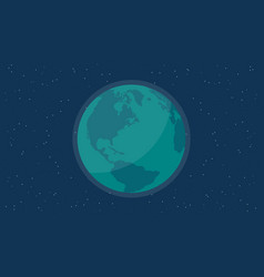 World at night background vector