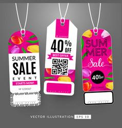 Summer sale event vector