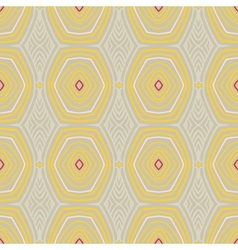 Vintage pattern fifties wallpaper vector