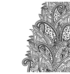 Cucumbers ornate vector