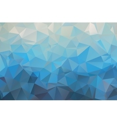 Abstract bright blue geometric background vector image vector image