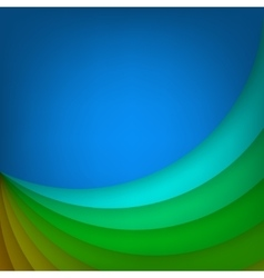 Arc layered modern background vector image vector image