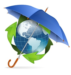 Environment Protection Concept vector image
