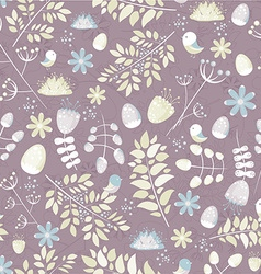 Floral seamless pattern - vector image vector image