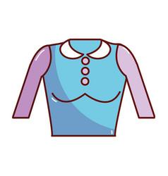 Nice blouse cloth style vector