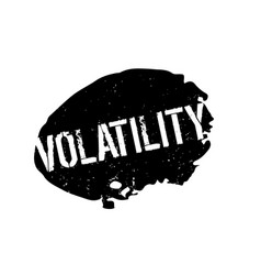 Volatility rubber stamp vector