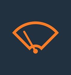 Windshield wiper icon vector