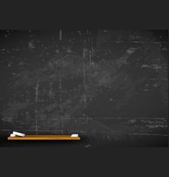 Chalkboard - school background vector