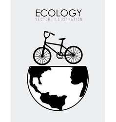 Ecology design vector