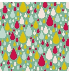 Drop seamless pattern vector