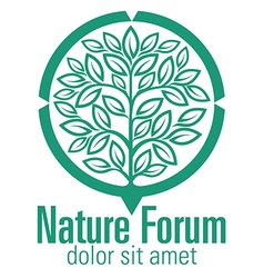 Nature forum vector