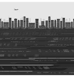 City buildings background vector